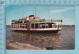 """Trois-Rivieres  Quebec -Le Traversier """" Radisson""""  - A Voyagé En 1968 - Postcard Carte Postale - Trois-Rivières"""