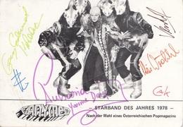 GANYMED - Starband Des Jahres 1978 (Ö) Mit Orig.Autogramme - Autographes