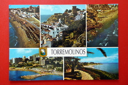 Torremolinos - Costa Del Sol - Andalusien - Spanien - Strand  Mittelmeer Wappen - Spanien