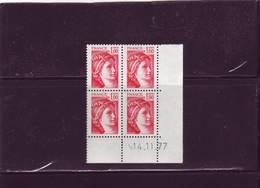 N° 1972- 1,00F Sabine De GANDON - 14.11.1977 - - 1970-1979