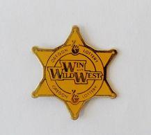 Pin's étoile De Shériff Loterie Oregon Lottery USA - 41R - Pins