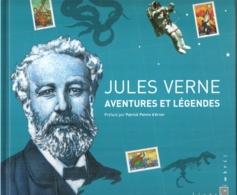 """Livre Timbré """"Jules Verne, Aventures Et Légendes"""", COMPLET Avec Ses 12 Timbres ** - Parfait état N°4007 Carnet De Luxe - Postdokumente"""