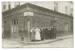 CARTE POSTALE DE NICE , RUE CENTRALE ET RUE ROSSETTI , BUVETTE E RESTAURANT DU NOUVEAU SIECLE , 1909 . - Pubs, Hotels And Restaurants