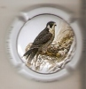 PLACA DE CAVA CAL LLUSIA DE UN PAJARO-BIRD  (CAPSULE) HALCON (RARA) - Placas De Cava