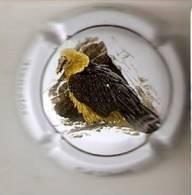 PLACA DE CAVA CAL LLUSIA DE UN PAJARO-BIRD  (CAPSULE) QUEBRANTAHUESOS - Placas De Cava