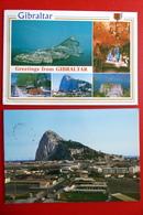 2 X Gibraltar - Vereinigtes Königreich - Spanien - Aduana Zoll - Flugzeuge - Zoll