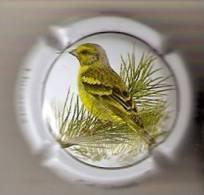 PLACA DE CAVA CAL LLUSIA DE UN PAJARO-BIRD  (CAPSULE)  LLUCARETA - Placas De Cava