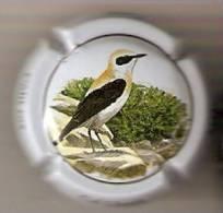 PLACA DE CAVA CAL LLUSIA DE UN PAJARO-BIRD  (CAPSULE) COLIT ROS - Placas De Cava