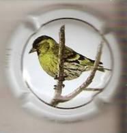 PLACA DE CAVA CAL LLUSIA DE UN PAJARO-BIRD  (CAPSULE) LLUER - Placas De Cava
