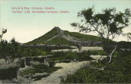 Colombia, CARTAGENA, Cerro De La Popa (1910s) Postcard - Colombie