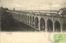 Colombia, CARTAGENA, Las Bóvedas, The Vaults (1900) Postcard - Colombia