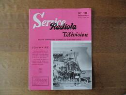 RADIOLA SERVICE TELEVISION N° 18 SEPTEMBRE SAISON 1958-59 - Fernsehen