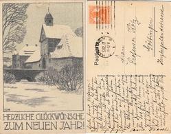 DEUTSCHES REICH 1917 - Postkarte Mit MiNr: 99 - Briefe U. Dokumente