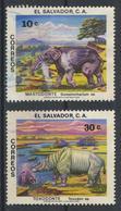 °°° EL SALVADOR - Y&T N°859/61 - 1979 °°° - El Salvador