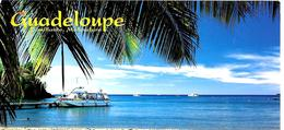 CPM-1990-GUADELOUPE-BOUILLANTE-Plage De MALENDURE-Ft 10,5x21 Cm-TBE - Basse Terre