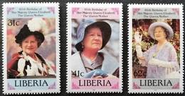 Liberia  1985 Queen Mother, 85th. Birthday - Liberia