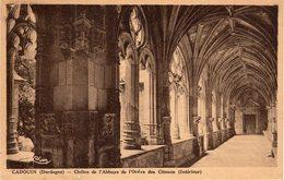 CADOUIN - Cloître De L' Abbaye De L' Ordre Des Citeaux ( Intérieur) - Frankreich