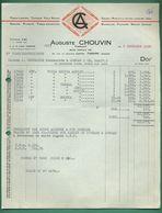 69 Tarare Chouvin Auguste Tissus Lingerie Taffetas Voiles Rideaux 1958 - Textile & Clothing