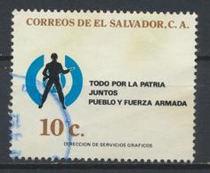 °°° EL SALVADOR - Y&T N°895 - 1982 °°° - El Salvador