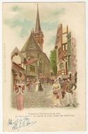 S7225 - Exposition Universelle De 1900 - Le Vieux Paris - Le Chevet De Saint Julien Des Ménétriers - Expositions