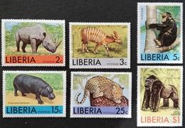 Liberia   1976  African Animals - Liberia