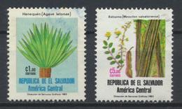 °°° EL SALVADOR - Y&T N°931/32 - 1984 °°° - El Salvador