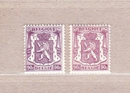 1945 Nr 714-14a** Zonder Scharnier.Klein Staatswapen.OBP 1,9 Euro. - 1935-1949 Petit Sceau De L'Etat