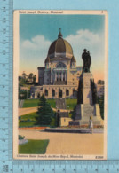 Montreal Quebec -Oratoire St-Joseph - A Voyagé En 1951  - Postcard Carte Postale - Montreal