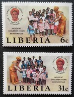 Liberia   1984 Indigent Children Home ,Bebsonville - Liberia