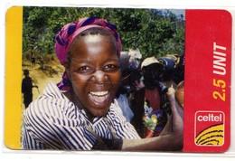 ZAMBIE RECHARGE GSM CELTEL 2,5U (ZM) - Zambia