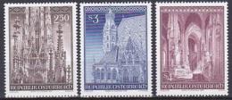 Austria/1977 - St. Stephens Cathedral/Stephensdoms - Set - MNH - 1971-80 Used