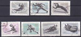 Austria/1963 - Winter Olympics/Olympische Winterspiele - Set - USED - 1945-.... 2. Republik