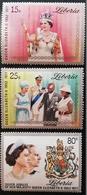 Liberia   1977 25th. Anniversary Of The Reign Of Queen Elizabeth II - Liberia