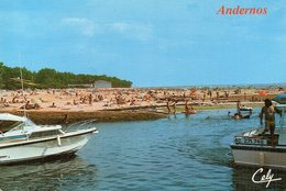 Andernos (Gironde) La Plage Du Betey - Andernos-les-Bains
