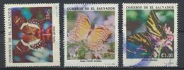 °°° EL SALVADOR - Y&T N°1091/93/94 - 1990 °°° - El Salvador