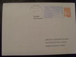 109-1- PAP Réponse Luquet RF Institut Gustave Roussy 0209052 Obl - Entiers Postaux