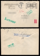 1985 Hungary - NORWAY Oslo - POSTAL SERVICE Letter Cover / STATIONERY Retour Inconnu - Interi Postali