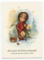 Natale Noel Weihnachten Christmas Angelo Ange Engel Angel Sapin - Angeli