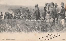 Java   Gen. Van Heutszs Met Staf Bij Bate Isle  Ja287 - Cartes Postales