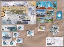 Argentina - 2018 - Lettre - Thème Antarctique - Expéditions Antarctiques - Faune Antarctique - Tourisme - Argentina