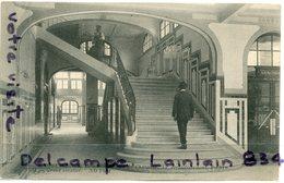 - PARIS - Hôtel Populaire Hommes - Rue Charonne, Animation, écrite, 1915, épaisse,  TTBE, Scans. - Arrondissement: 11