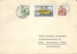 Ausland Brief  Zürich - Altenburg Thüringen           1949 - Briefe U. Dokumente