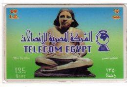 EGYPTE TELECOM EGYPT LE SCRIBE - Egypte