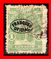 EL SALVADOR AÑO 1901 – 1 CENTAVO FRANQUEO OFICIAL - El Salvador