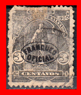 EL SALVADOR AÑO 1901 – 3 CENTAVO FRANQUEO OFICIAL - El Salvador