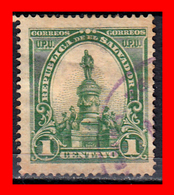 EL SALVADOR AÑO 1903 – 1 CENTAVO MORAZAN MONUMENTO - El Salvador
