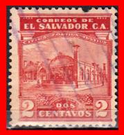 EL SALVADOR AÑO 1924-25 – 2 CENTAVOS - El Salvador