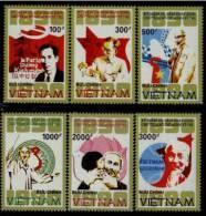 Vietnam MNH Sc 2106-11 Mi 2176-81 Ho Chi Minh 100 Th  1990 - Vietnam