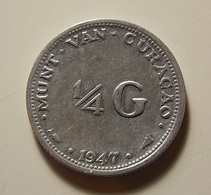 Curacao 1/4 Gulden 1947 Silver - Curaçao
