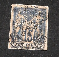 Perforé/perfin/lochung France No 90 BP Banque De Paris Et Des Pays Bas (143) - Perforés